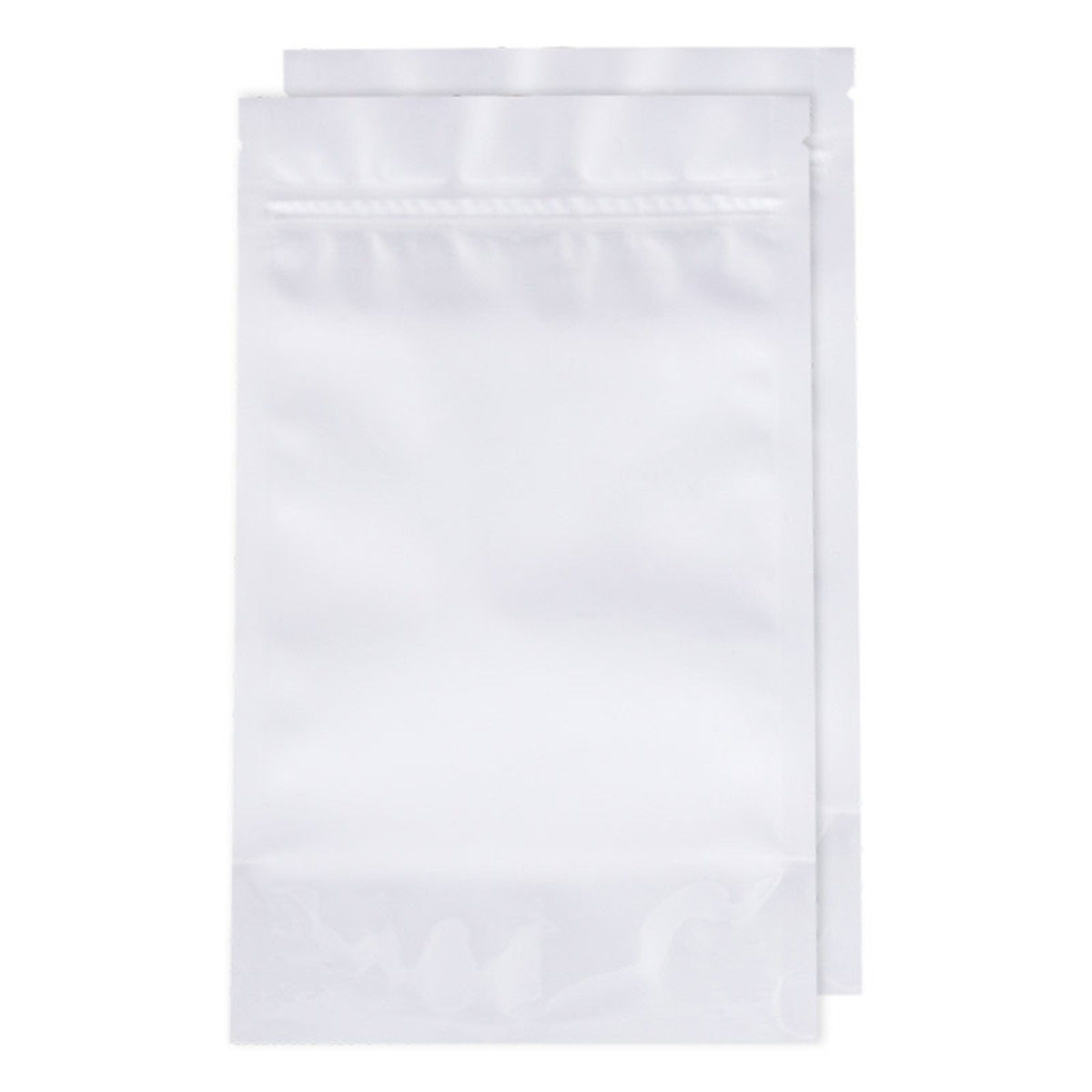 Half Ounce White Opaque Barrier Bags (100 Qty.)