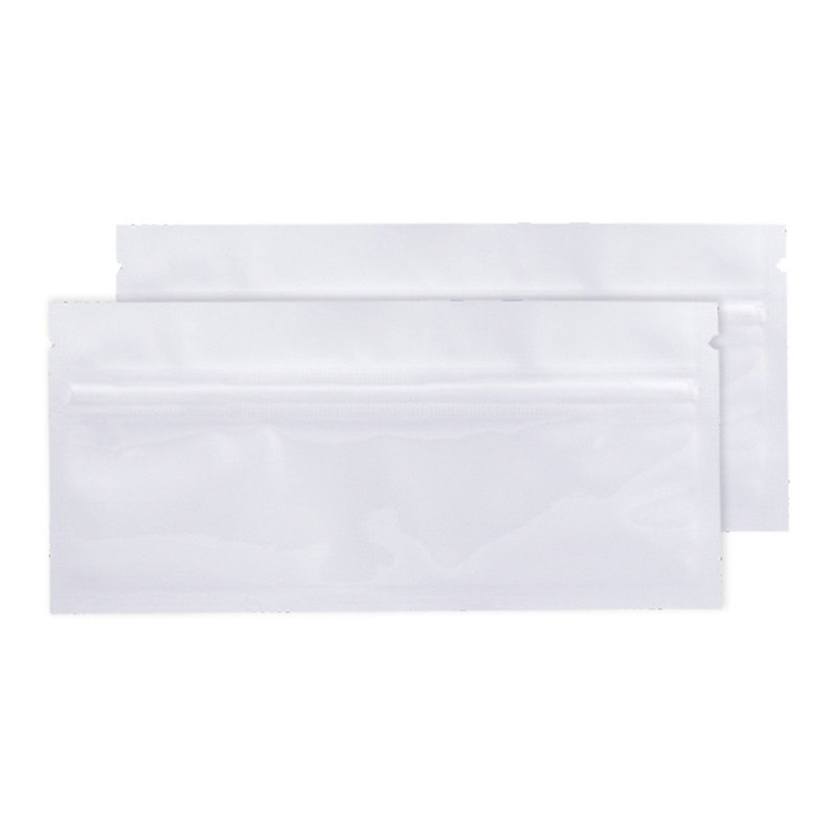 Pre-roll White Opaque Barrier Bags (100 Qty.)