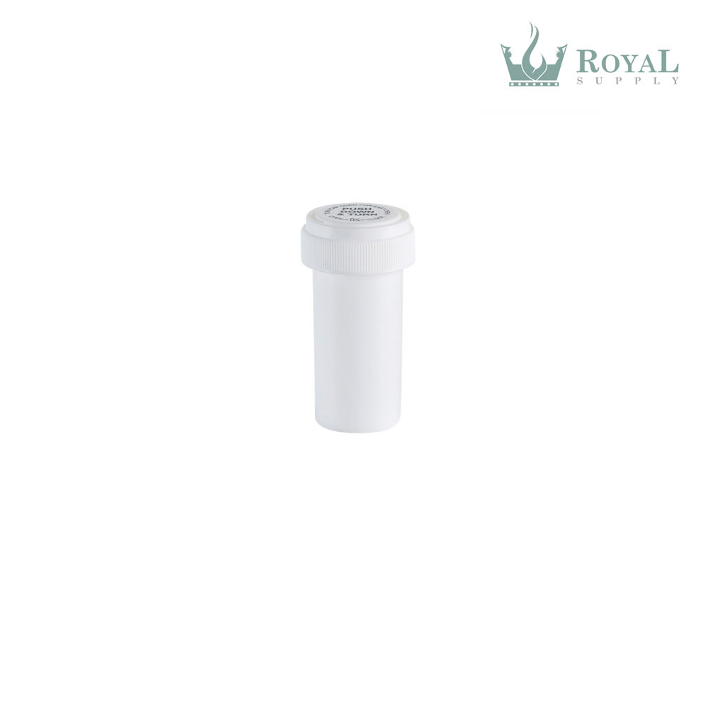 13 Dram High Quality Opaque Child Resistant Reversible Cap Vials