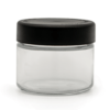 2OZ V2 FLUSH GLASS JAR (QTY 216)