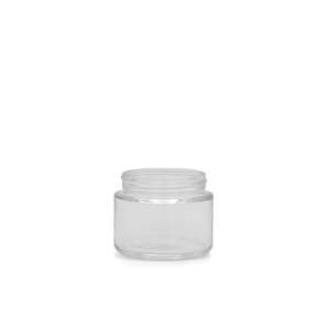 2OZ V2 FLUSH GLASS JAR (216 QTY)