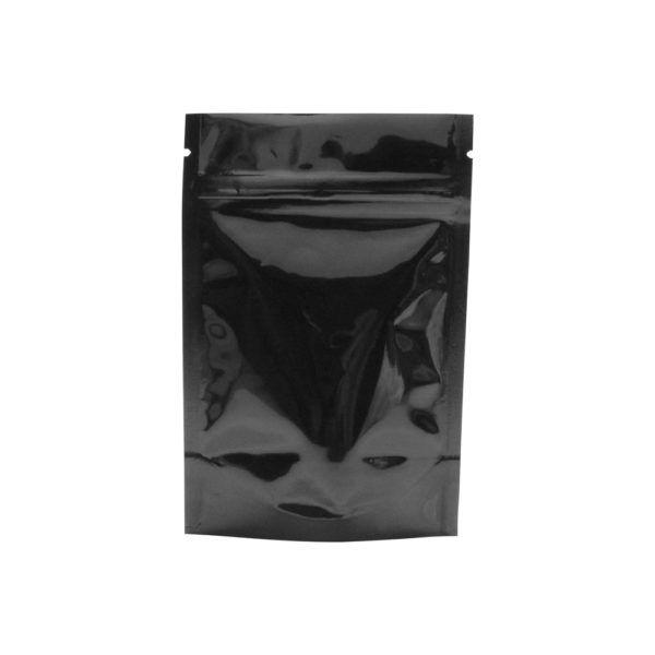 Eighth Ounce Barrier Bags Black