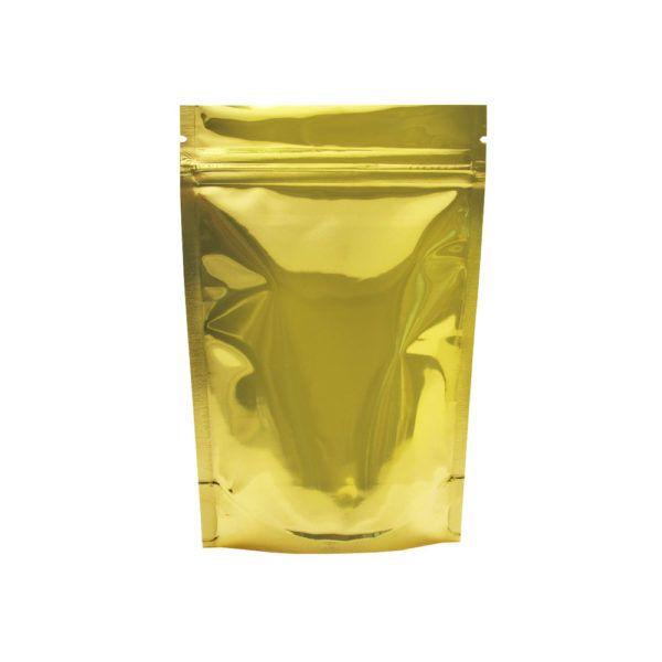 Eighth Ounce Barrier Bags Gold