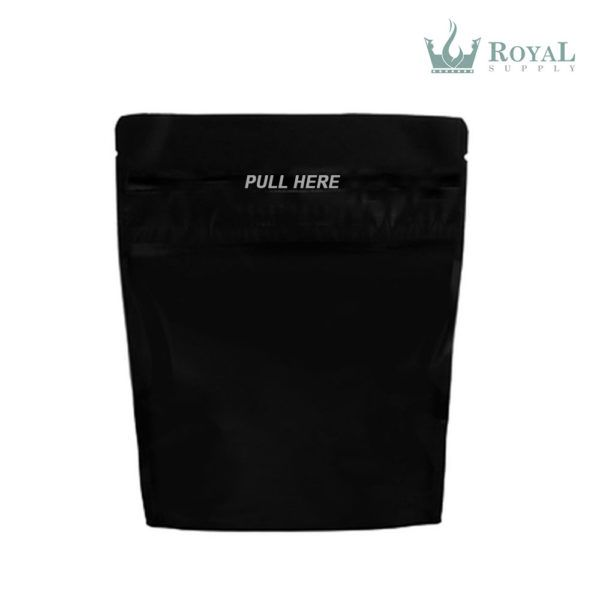 8 oz Grip N Pull Child Resistant Bag Black
