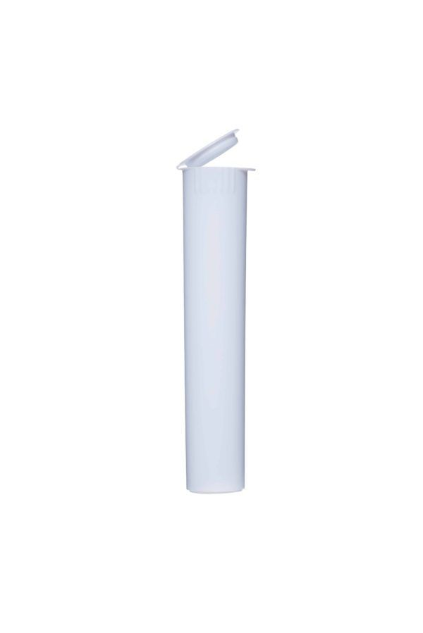 116mm Opaque Child Resistant Pre Roll, Silver