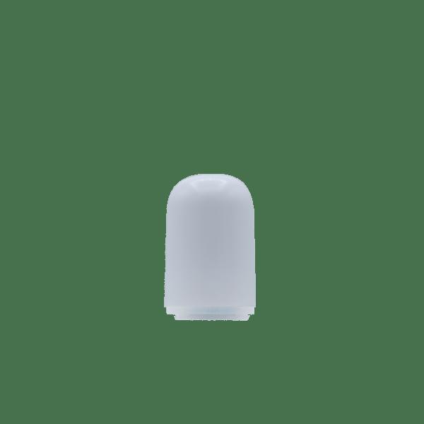 Bullet Tip Plastic Vape Cartridge Mouthpiece, white