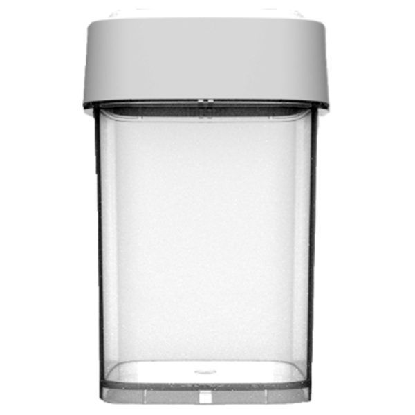 15 – 145 Dram Calyx Containers Clear Base