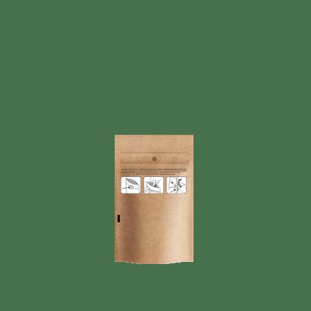 8 oz Child Resistant Bag, Kraft
