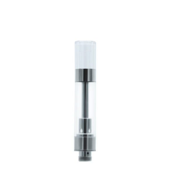 Round Plastic Cartridge Mouthpiece, clear