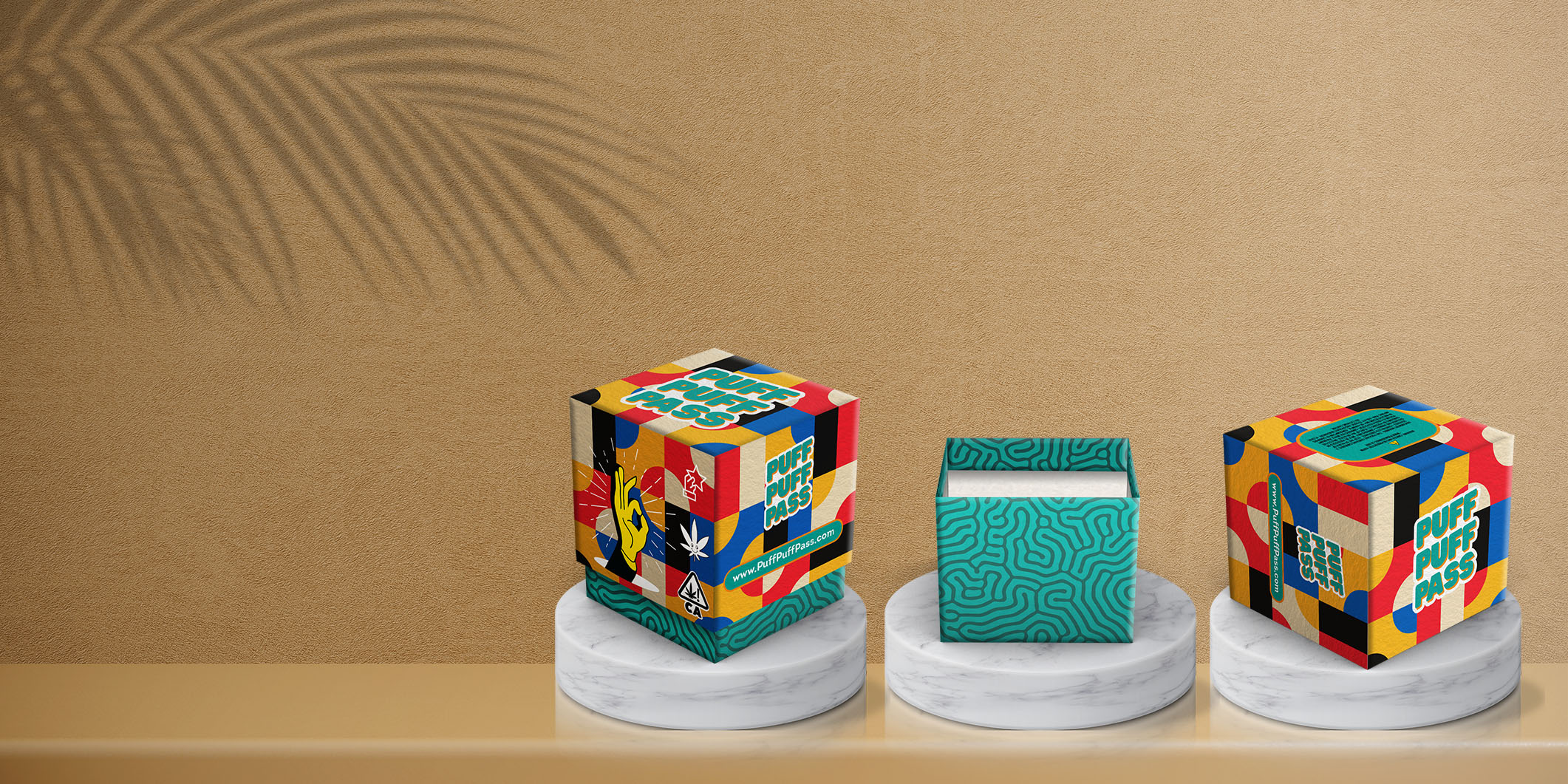 Custom Flower Jar Packaging