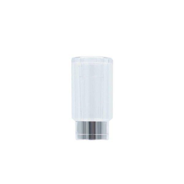 Press In Round Plastic Mouthpiece Cartridge Tip