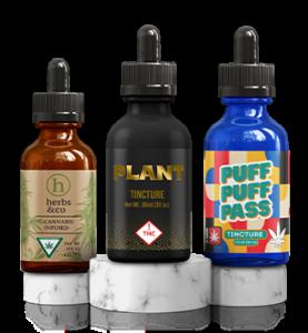 Custom Tincture Bottles