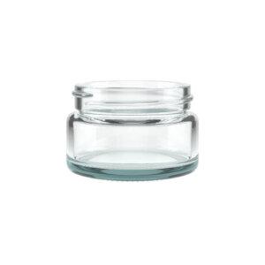 1oz Premium Flush Glass Jar